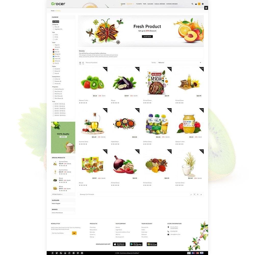Grocer - Fresh Grocery Mega Mart