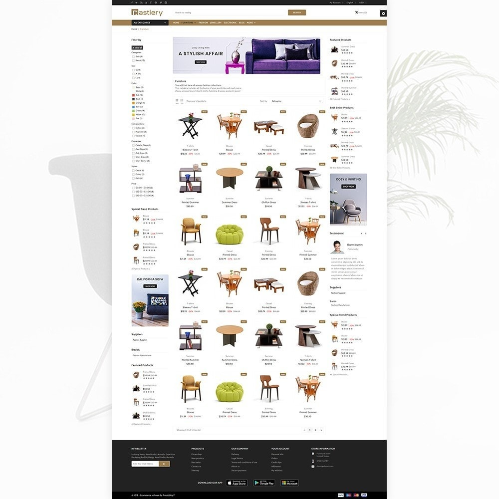 theme - Home & Garden - Castlery - Stylish Furniture Mega Mart - 3