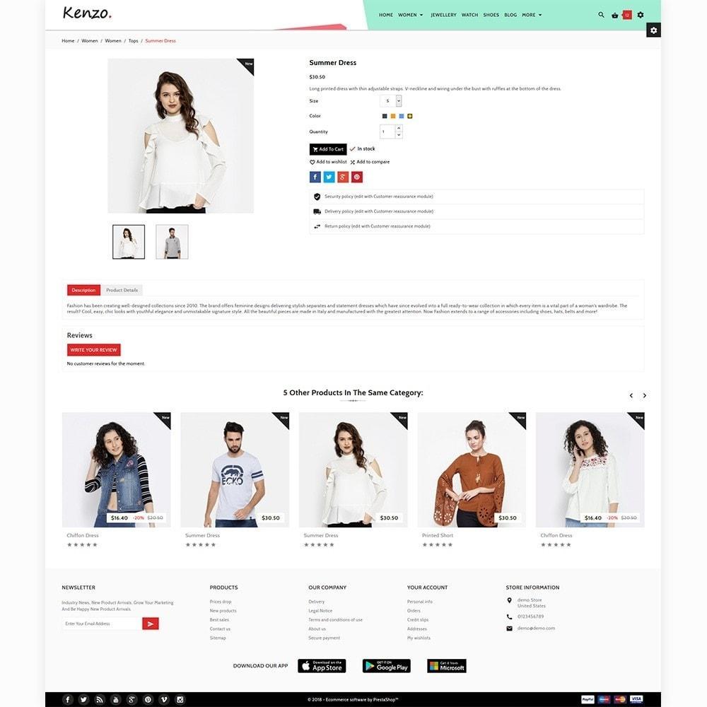 theme - Fashion & Shoes - Kenzo Stylo Fashion Shop - 6
