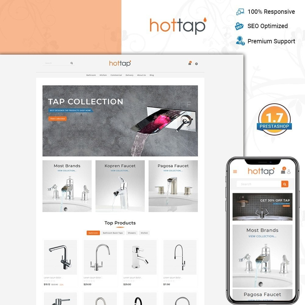 theme - Дом и сад - Hot tap - The Tap Store - 1