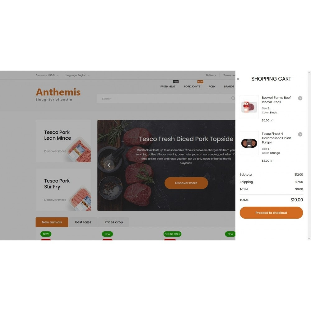 theme - Lebensmittel & Restaurants - Anthemis - 7