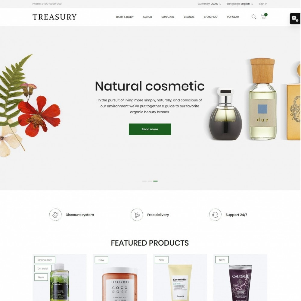 Treasury Cosmetics