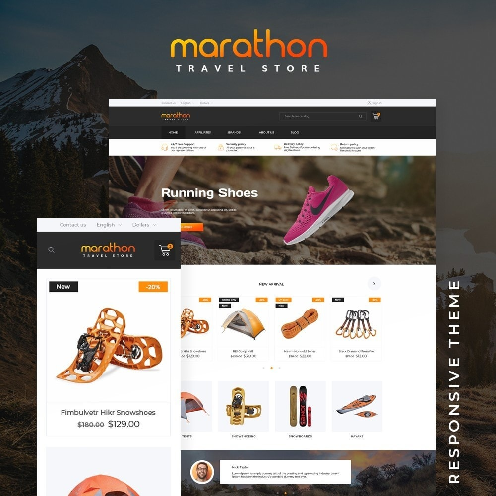 theme - Sports, Activities & Travel - Marathon - 1