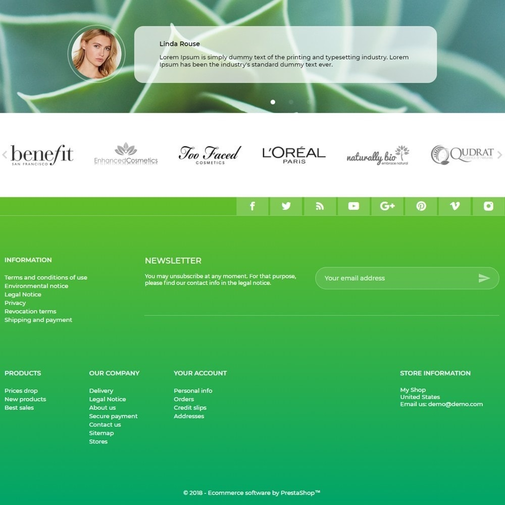 theme - Health & Beauty - Ellen Cosmetics - 4