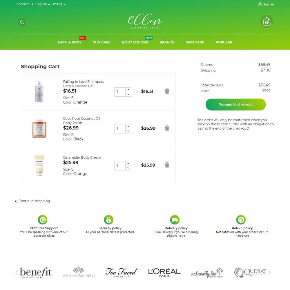 theme - Health & Beauty - Ellen Cosmetics - 7
