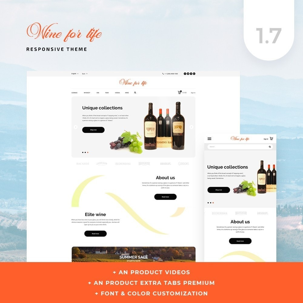 Wine for life Shop