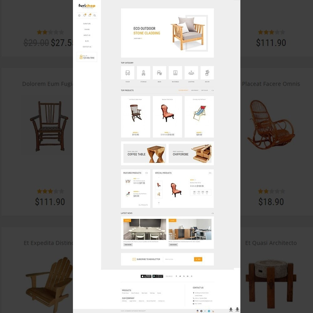 theme - Maison & Jardin - furishop – Multipurpose Furniture Store - 2