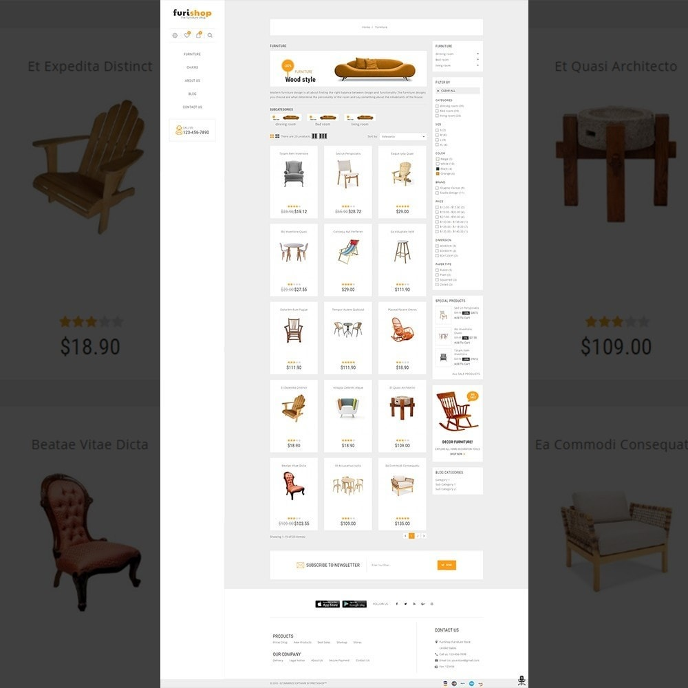 furishop - Multipurpose Furniture Store