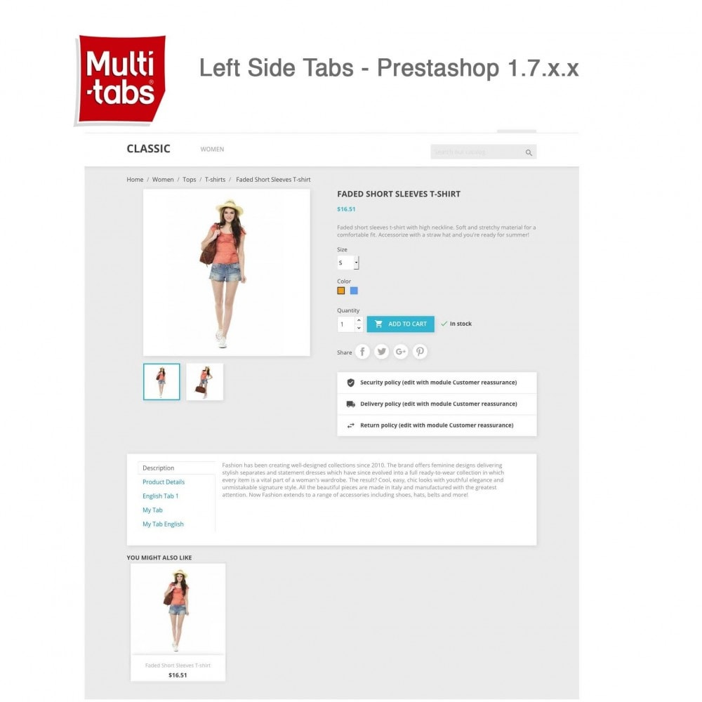 module - Internationaal & Lokalisatie - Product Tabs (Multi-Language, Responsive, 12 styles) - 13