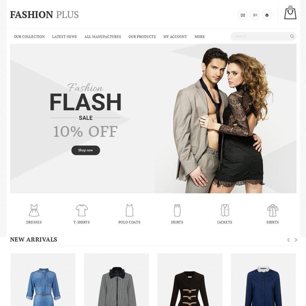 theme - Fashion & Shoes - Fashion Plus - The Fashion Store - 2