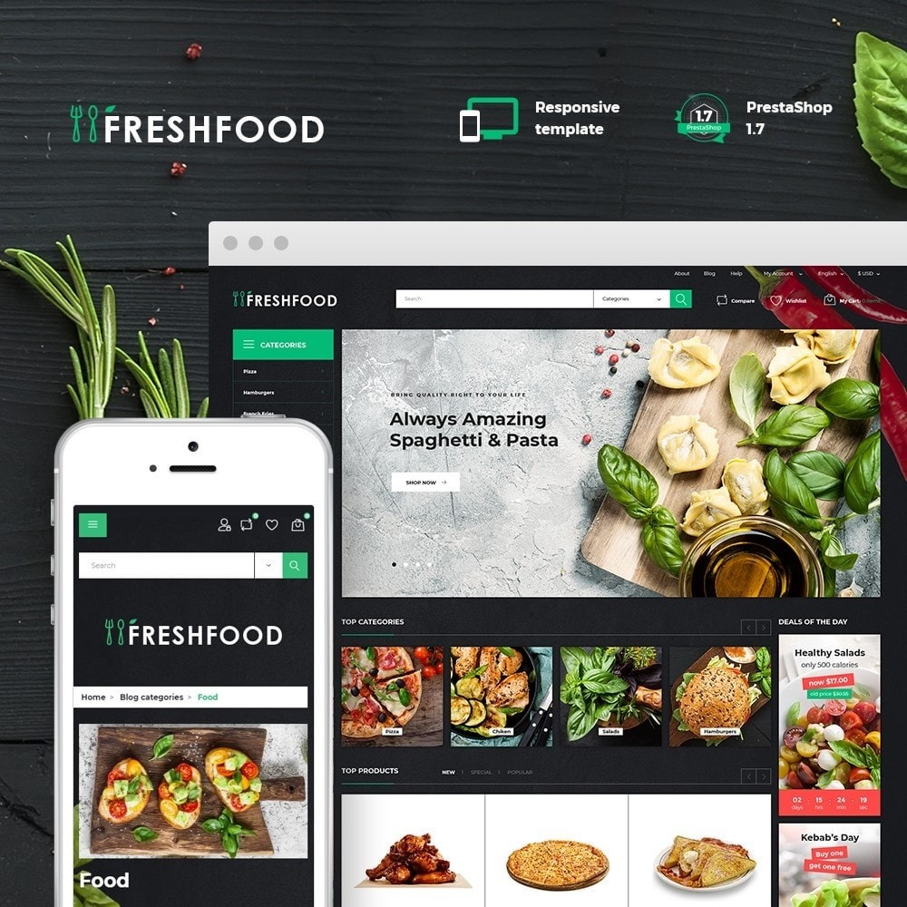 Freshfood Court - Food Store