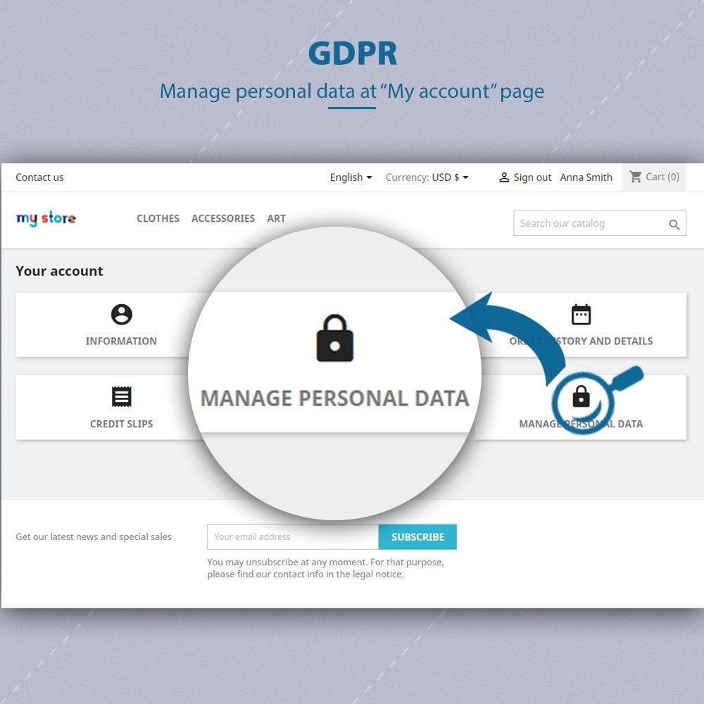 module - Администрация - GDPR Compliance - EU Cookies Law Banner - 6