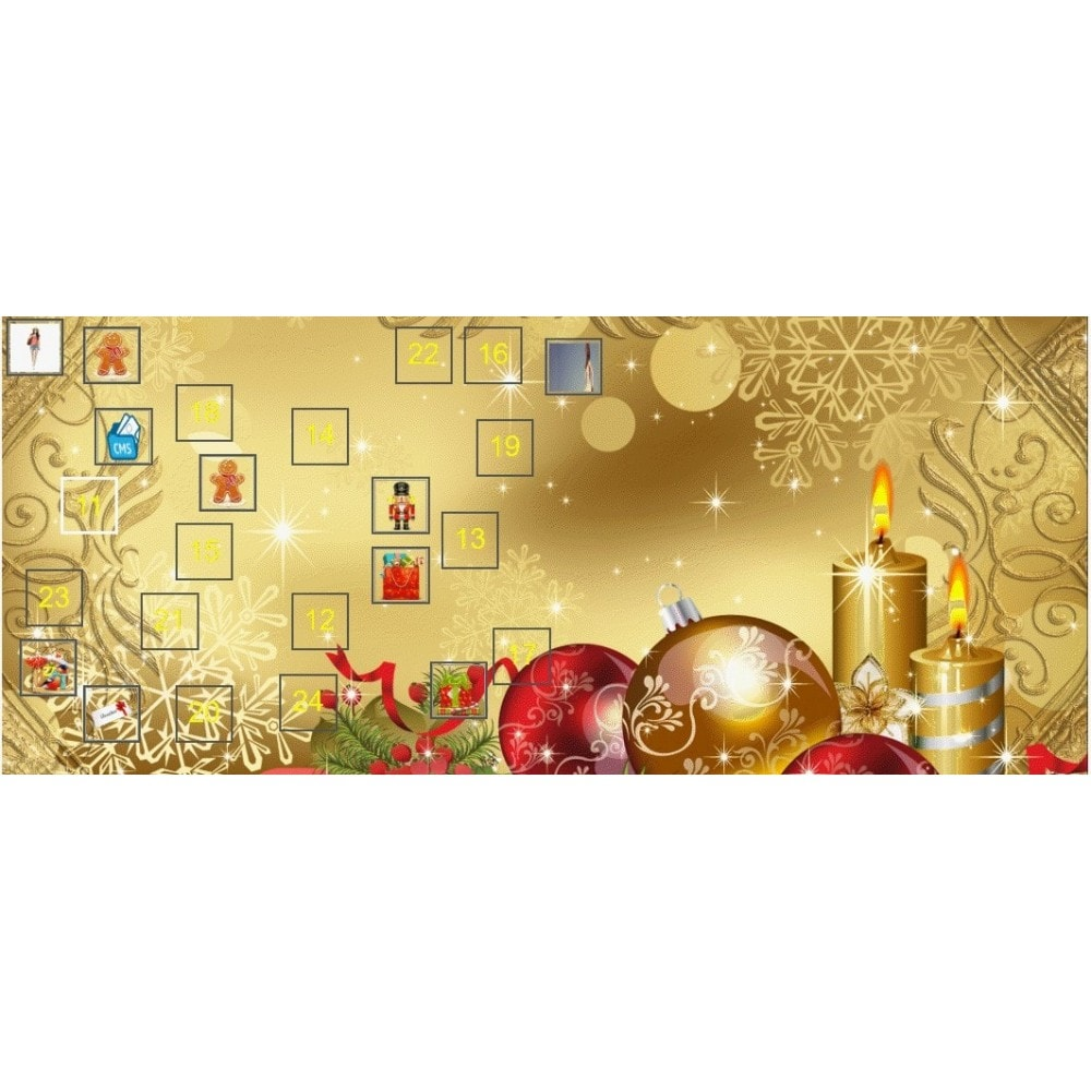 module - Promotions & Gifts - Xmas Advent Calendar - 1