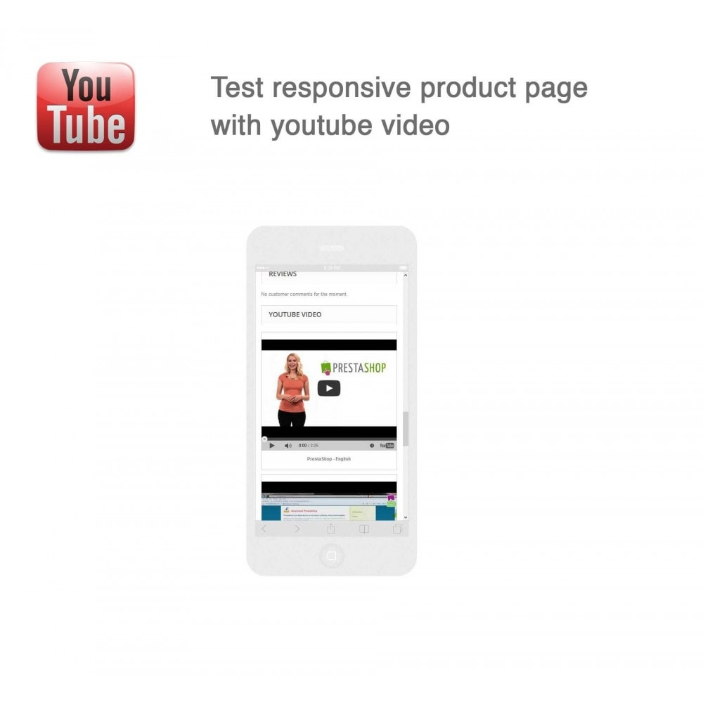 module - Bloques, Pestañas y Banners - Responsive Youtube Tabs + Block Last YouTube Video - 14
