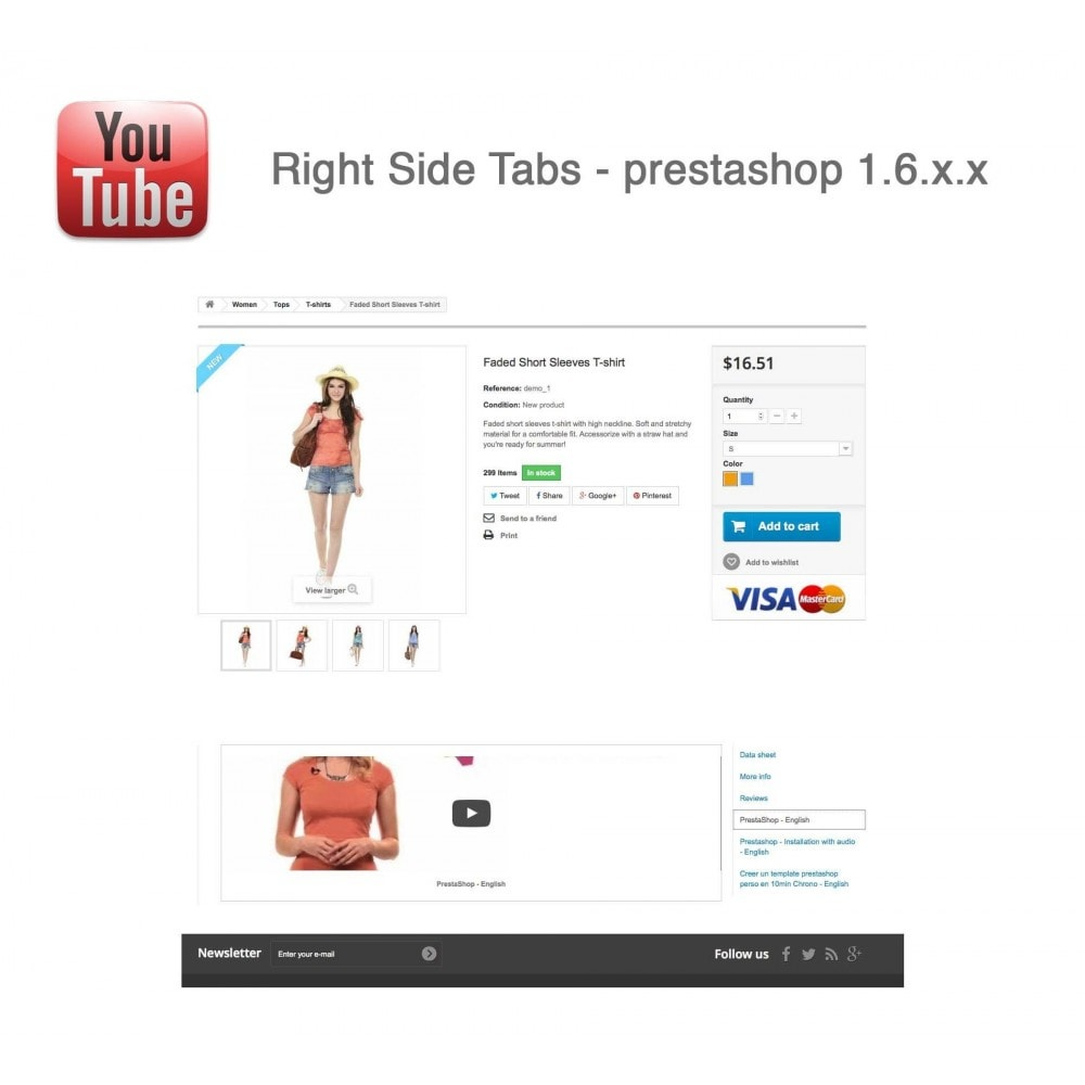 module - Bloques, Pestañas y Banners - Responsive Youtube Tabs + Block Last YouTube Video - 18