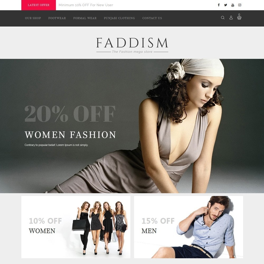 Faddism - The Fashion Shop