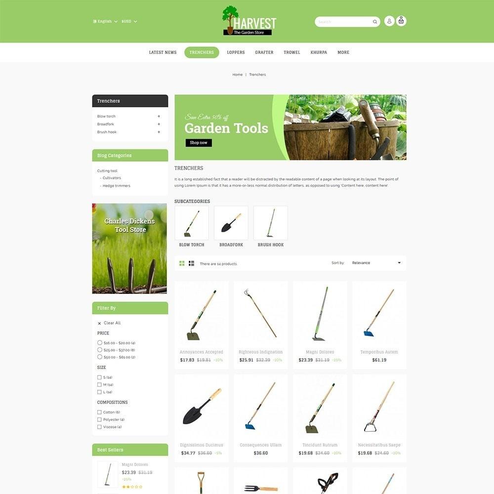 theme - Home & Garden - Harvest - The Gardening Store - 4