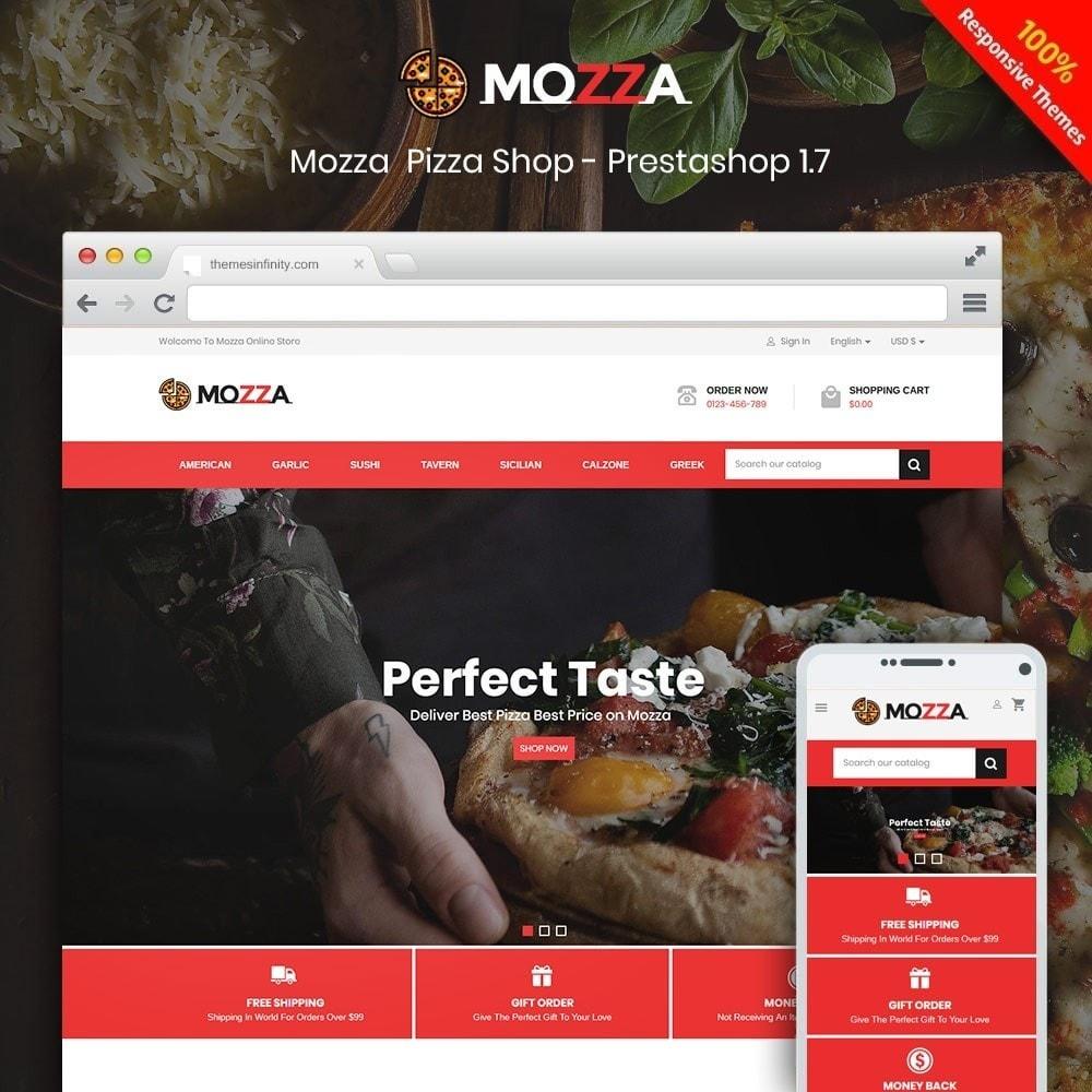 theme - Alimentos & Restaurantes - Mozza - Pizza Online Store - 1