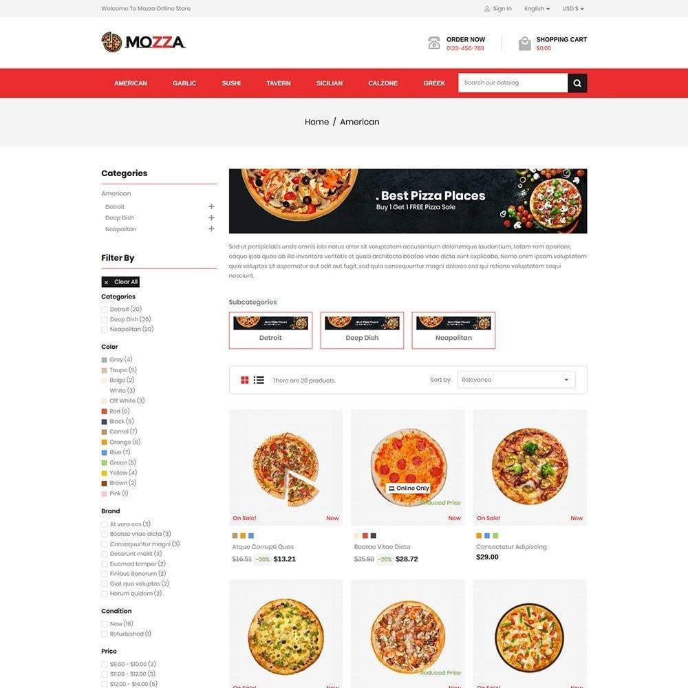 Mozza - Pizza Online Store