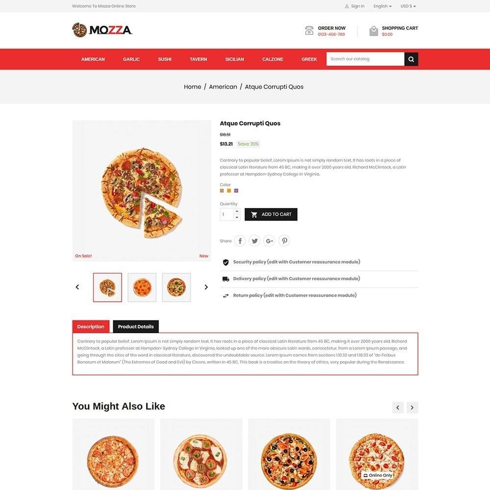 theme - Alimentos & Restaurantes - Mozza - Pizza Online Store - 5