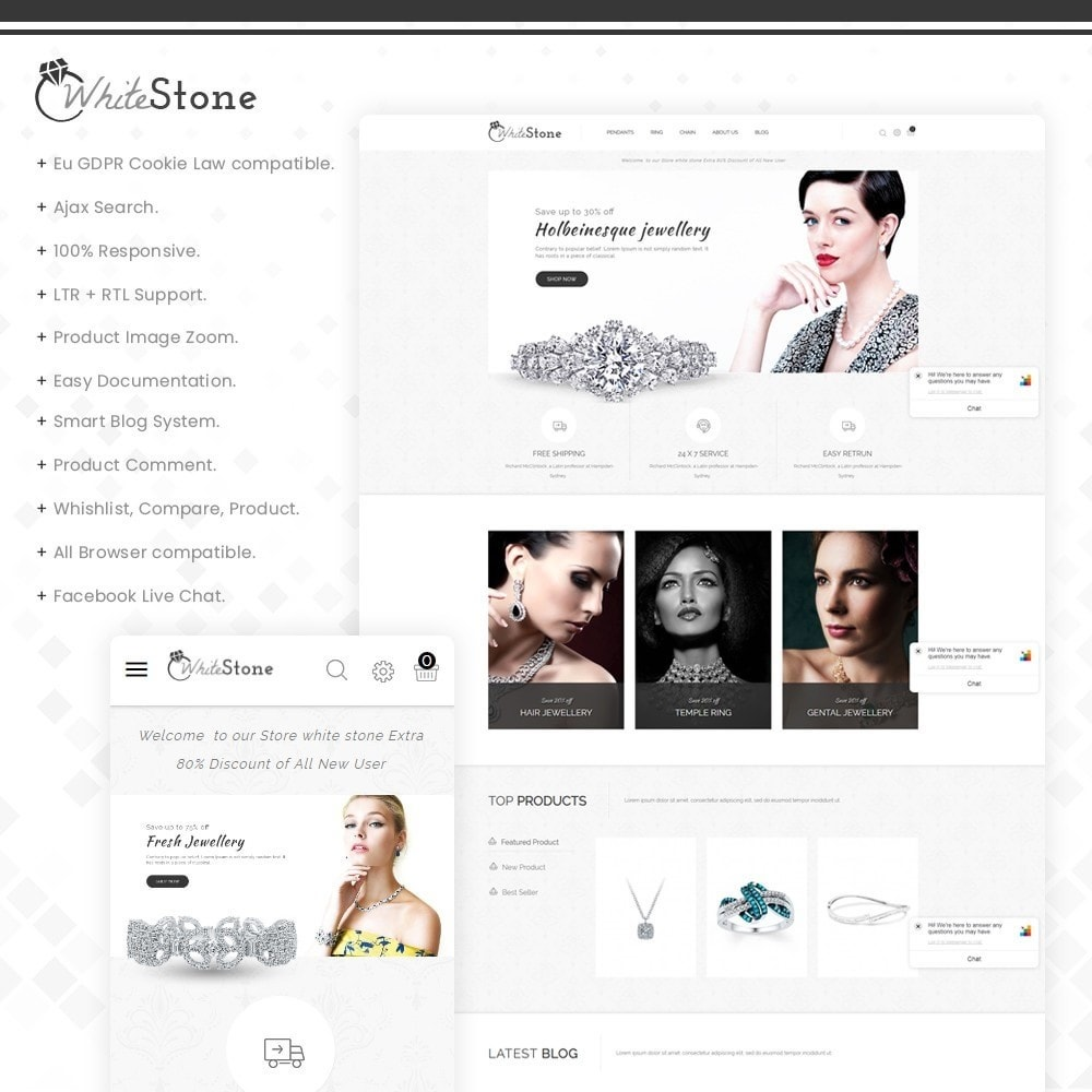 Whitestone- Multipurpose jewellery Store