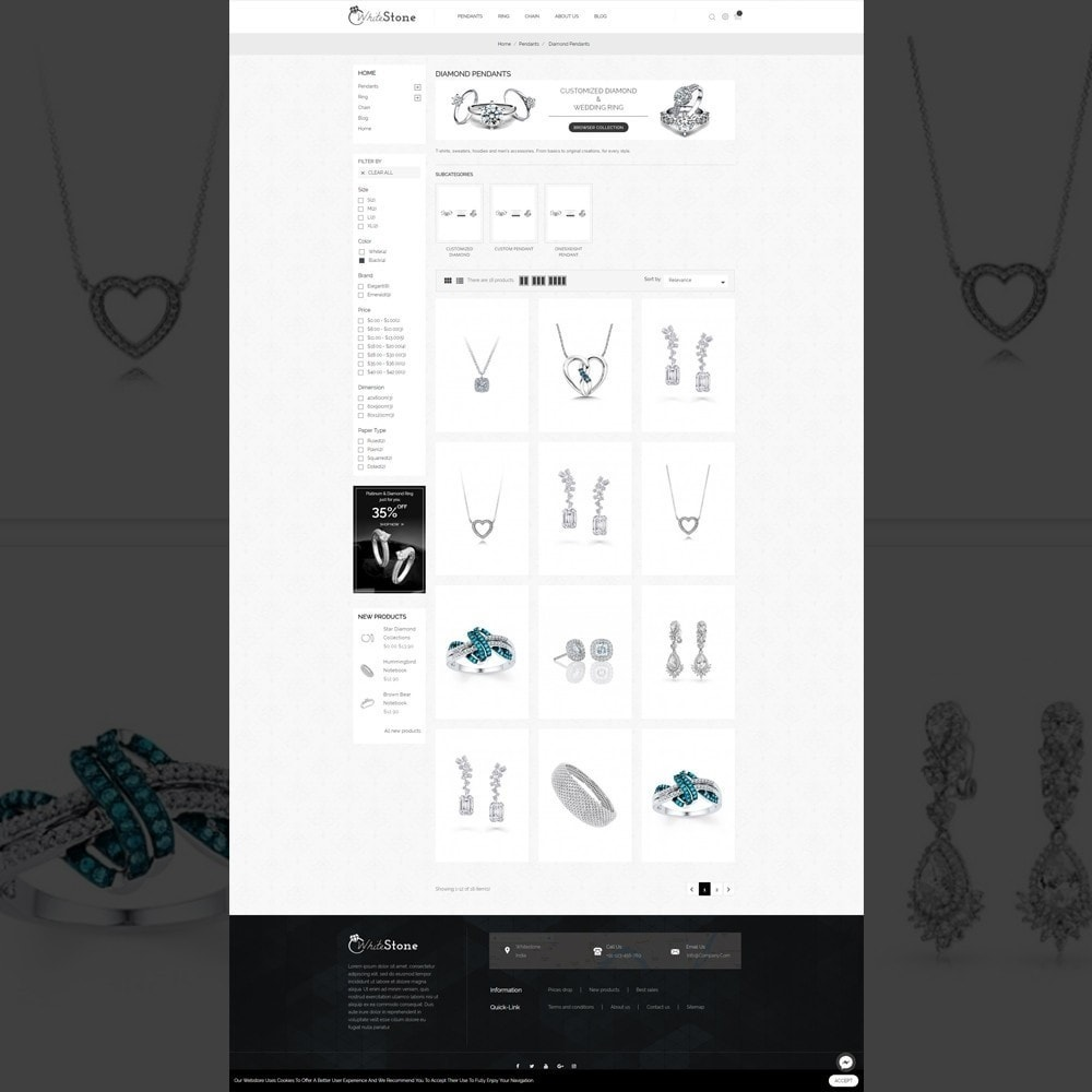 Whitestone– Multipurpose jewellery Store
