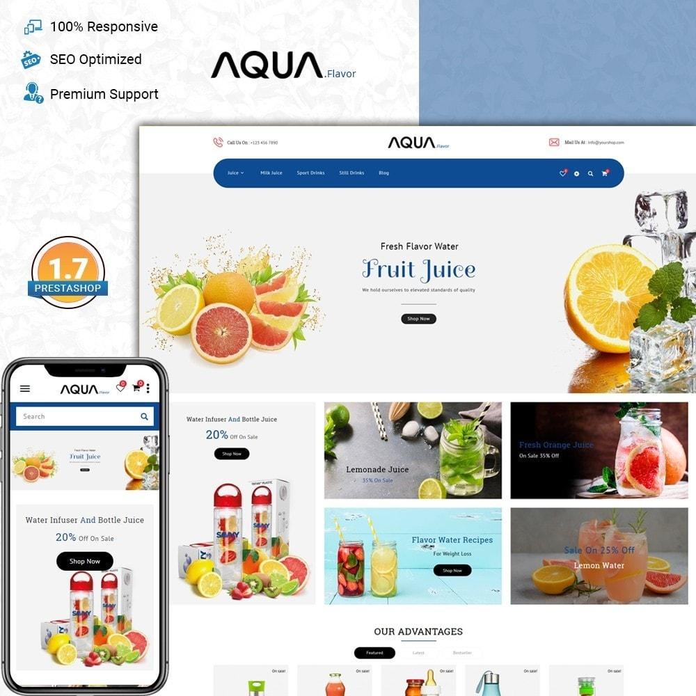 Aqua - flavor water
