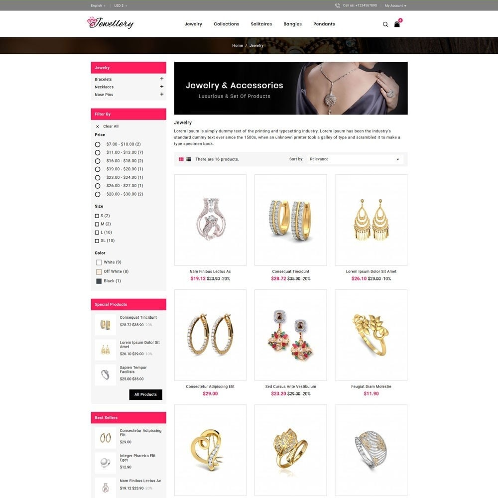 theme - Jewelry & Accessories - Jwellery Store - 3