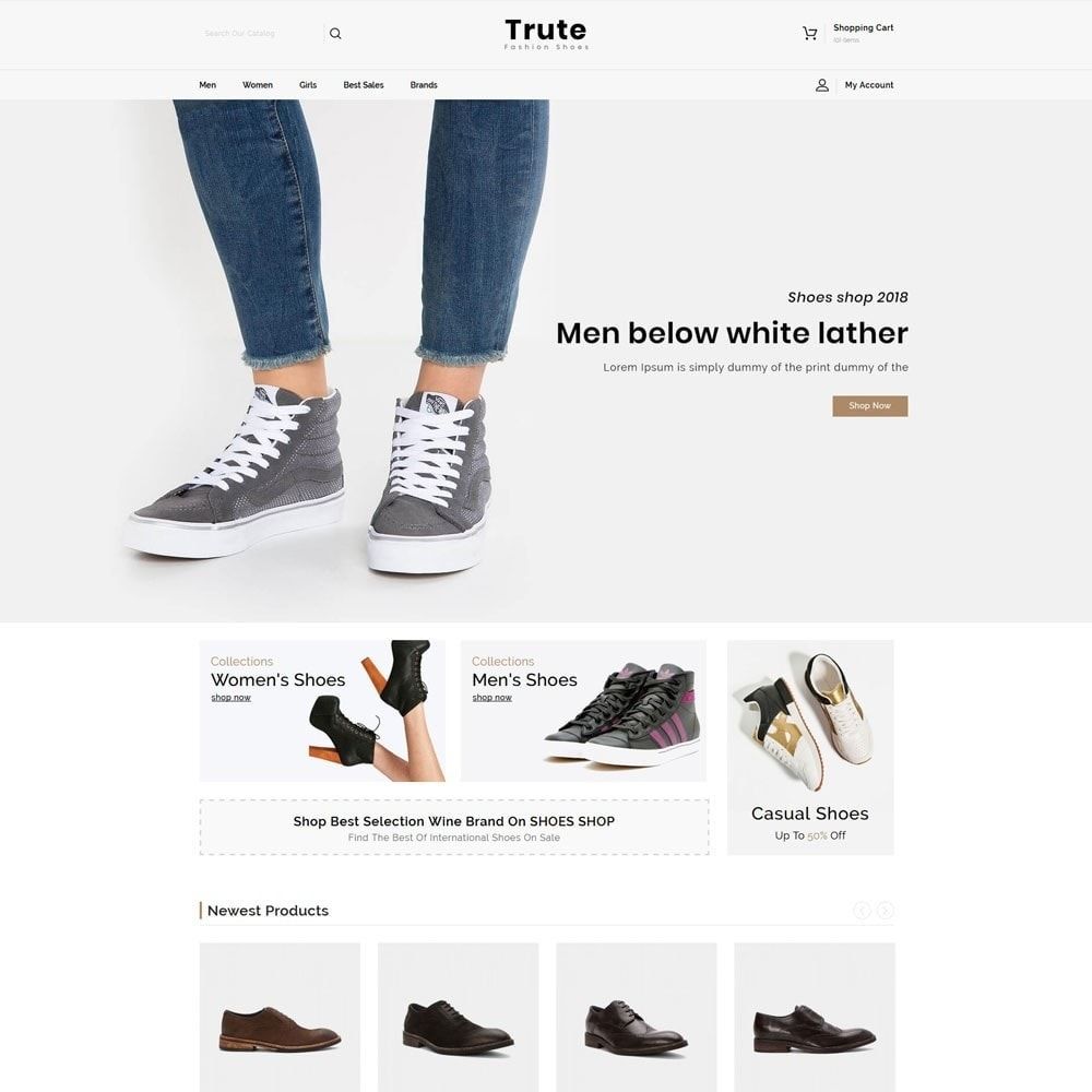Trute Shoes store