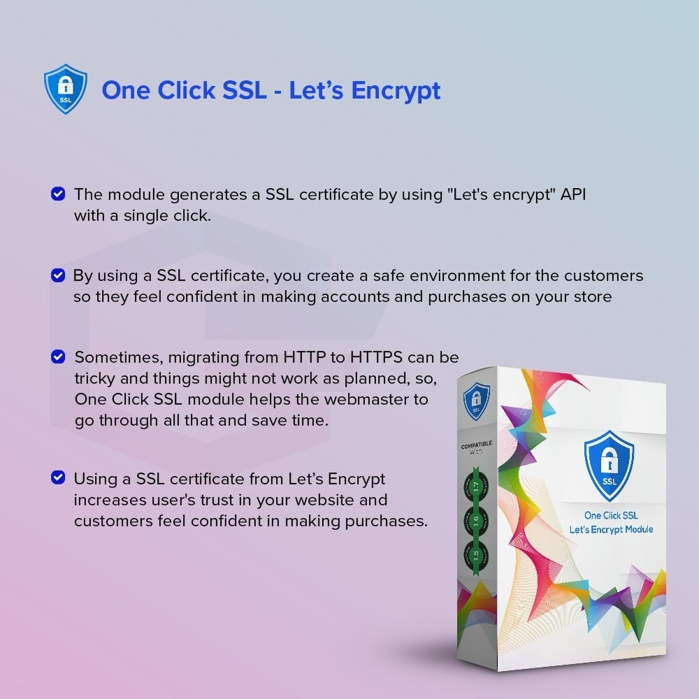 module - Security & Access - One Click SSL Let's Encrypt - 2