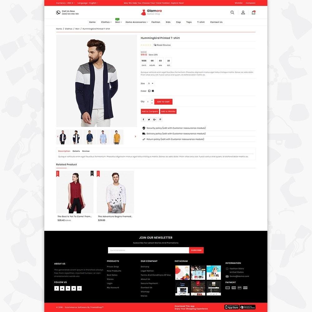theme - Fashion & Shoes - Glamora - Fashion Store - 5