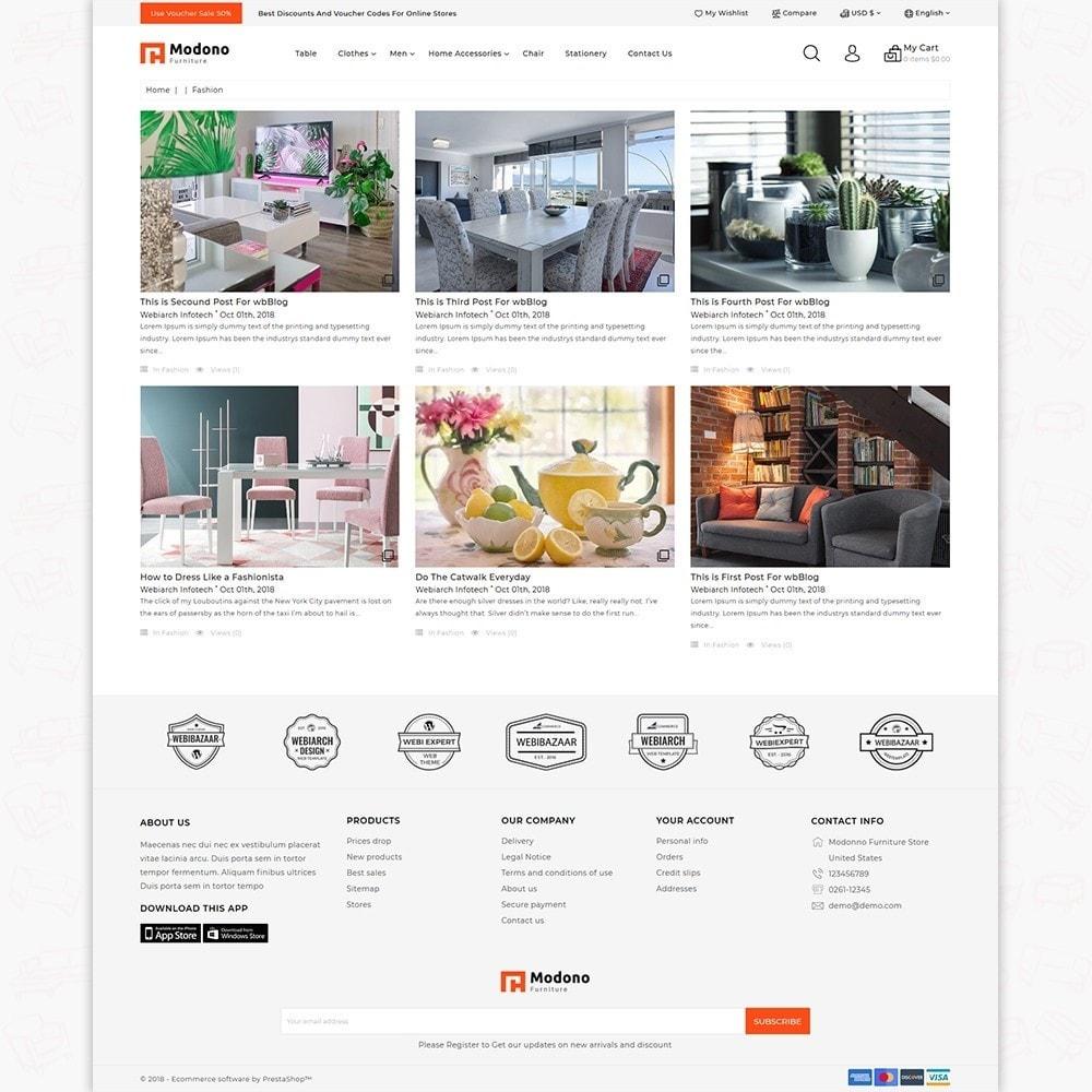 theme - Home & Garden - Modono-  The Furniture Store - 6