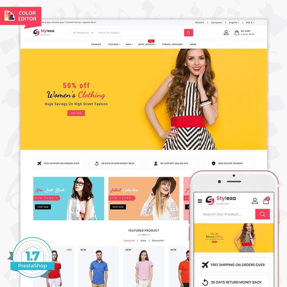 theme - Fashion & Shoes - Stylexa - The Fashion Store - 1