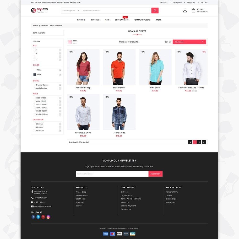theme - Fashion & Shoes - Stylexa - The Fashion Store - 3