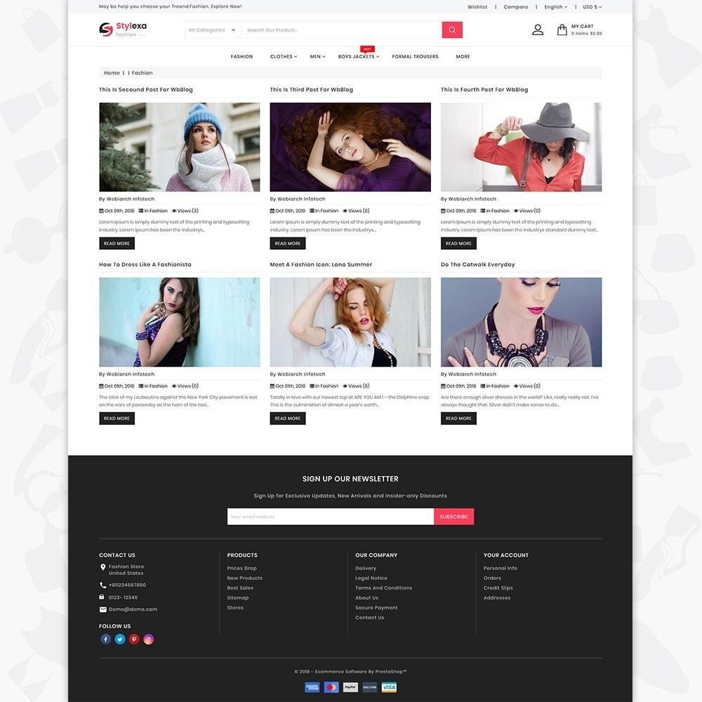 theme - Fashion & Shoes - Stylexa - The Fashion Store - 6