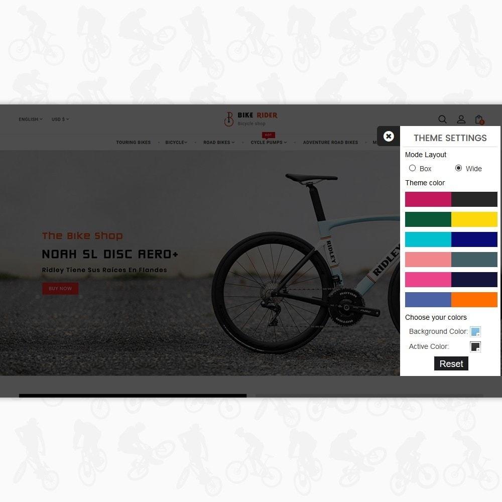 theme - Sport, Aktivitäten & Reise - Bike Ryder - Bike Rental Shop - 8