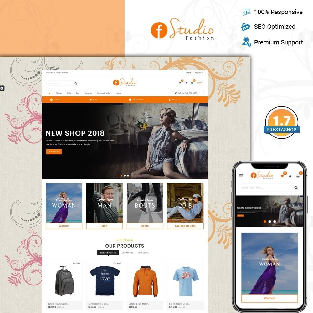 fStudio - Fashion Store