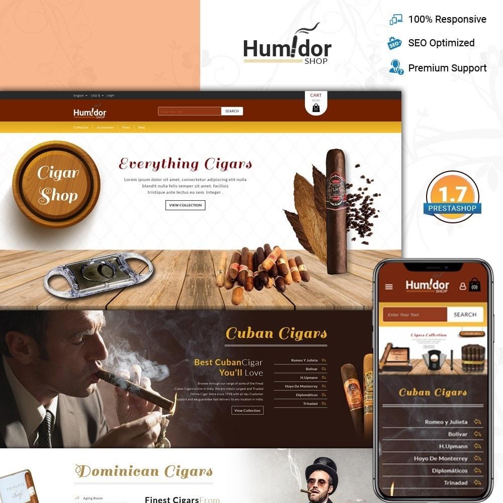 theme - Напитки и с сигареты - Humidor - Cigar Store - 1