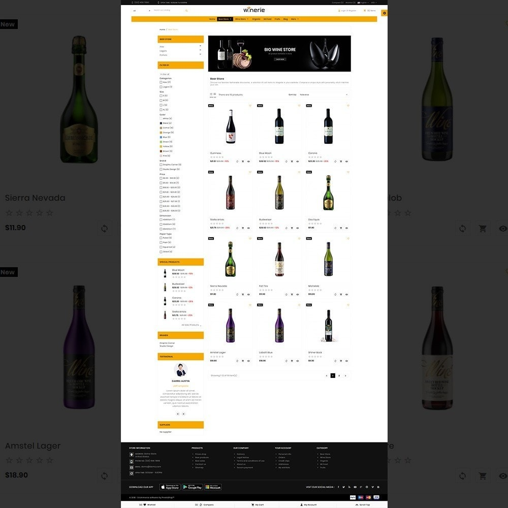 Winerie – Wine Mega Shop