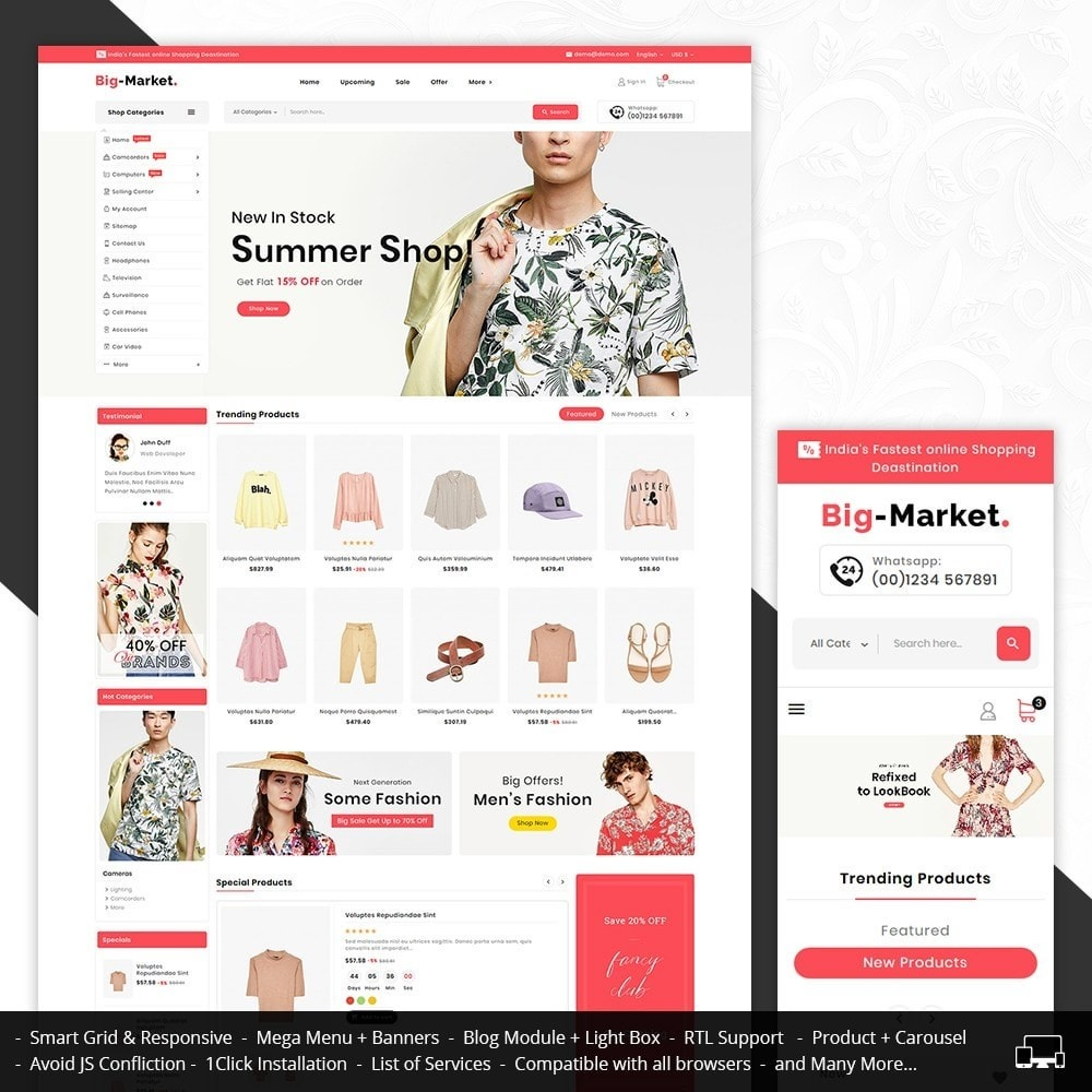 theme - Fashion & Shoes - Big Market Fashion - 1