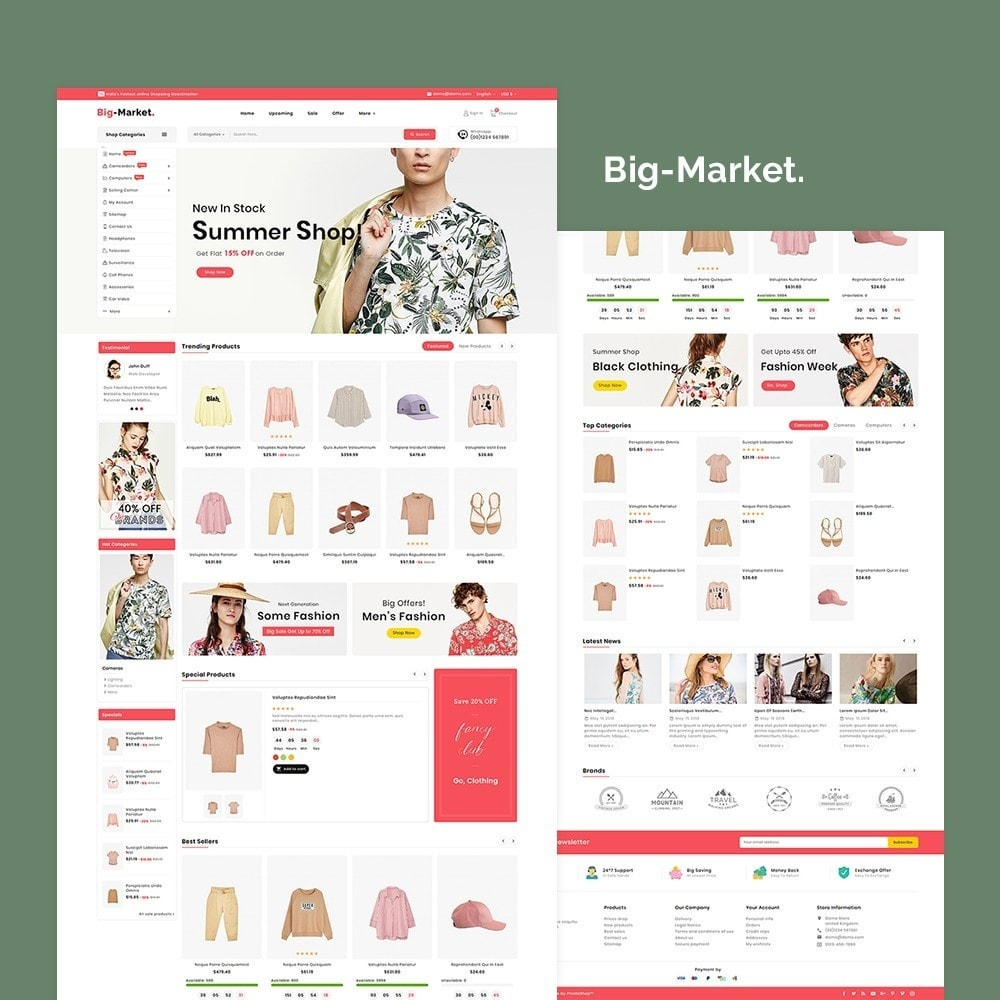 theme - Fashion & Shoes - Big Market Fashion - 2