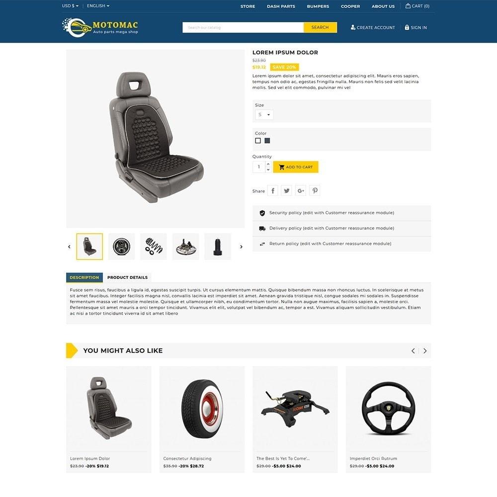 theme - Automotive & Cars - Motomac Autoparts Shop - 5