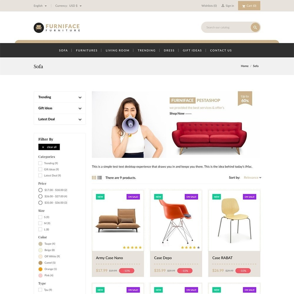 theme - Casa & Jardins - Furnitures - Furniture Online Store - 3