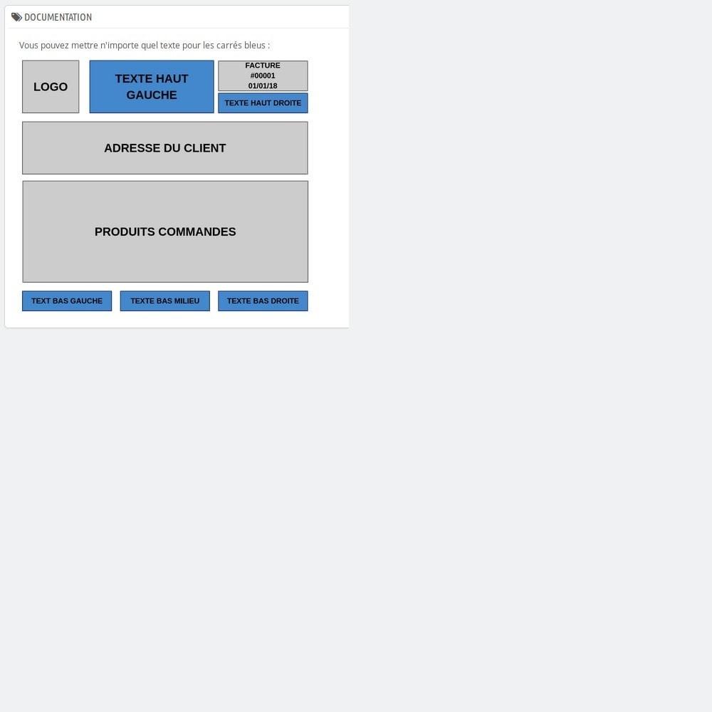 module - Comptabilité & Facturation - Modification Simple de Facture - 1