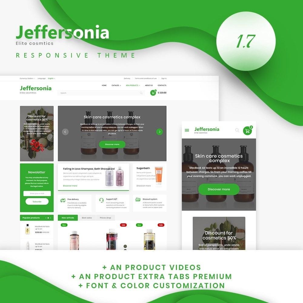 theme - Health & Beauty - Jeffersonia Cosmetics - 1