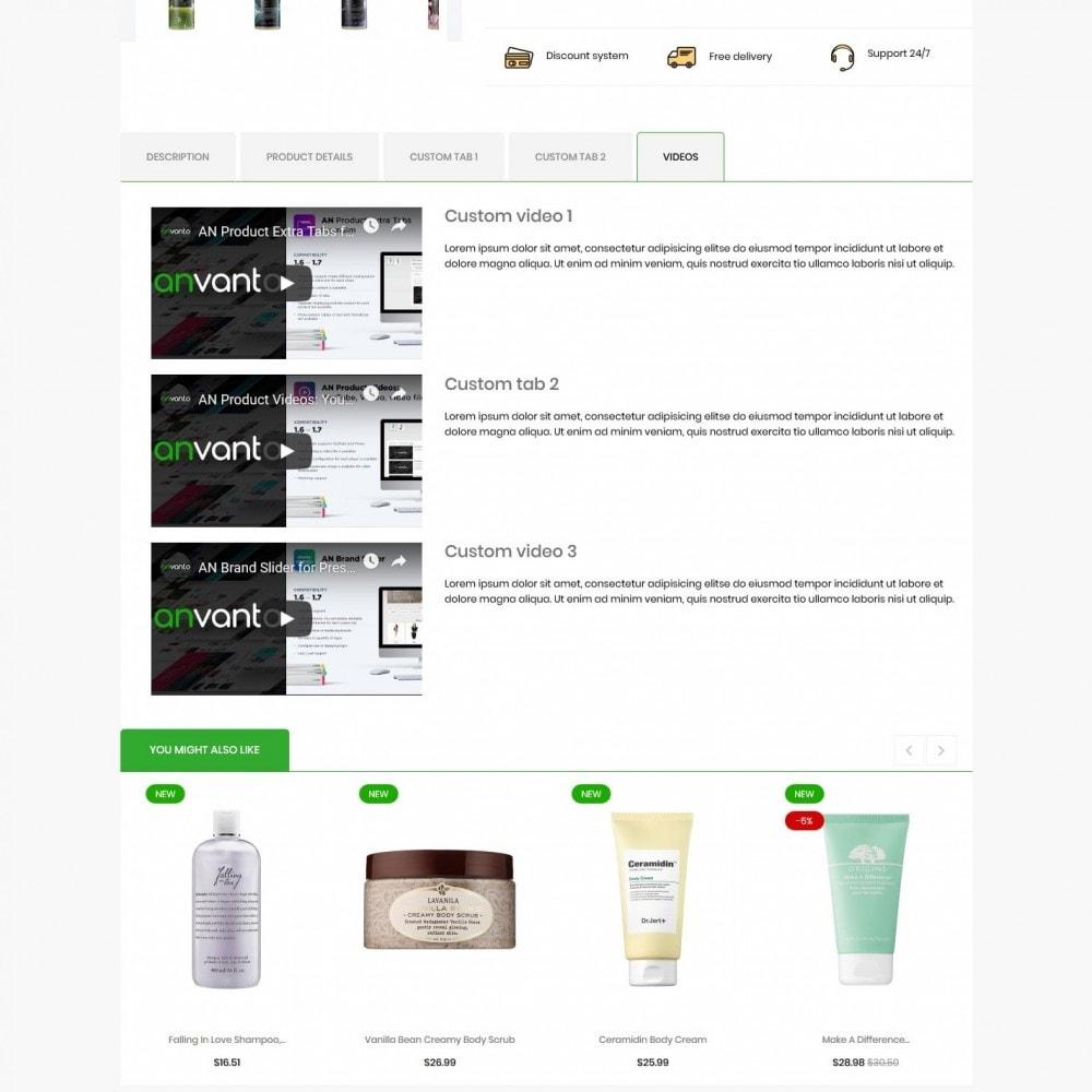 theme - Health & Beauty - Jeffersonia Cosmetics - 9