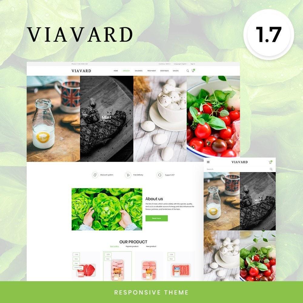 theme - Food & Restaurant - Viavard - 1