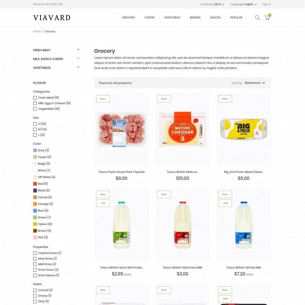 theme - Food & Restaurant - Viavard - 5