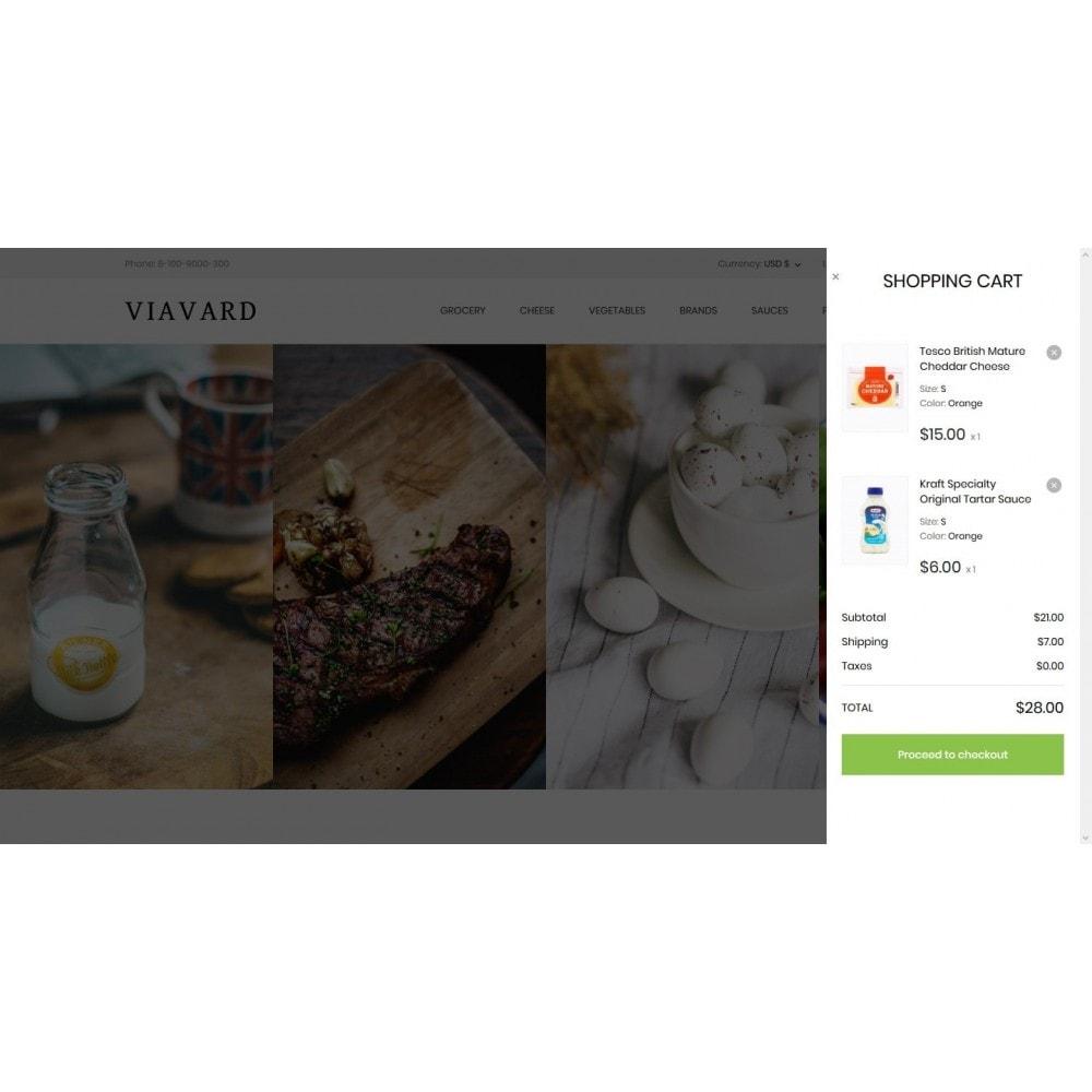 theme - Food & Restaurant - Viavard - 7