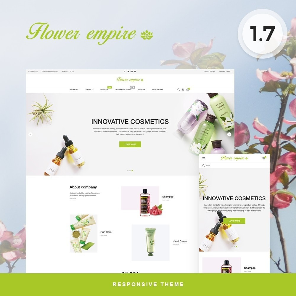 Flower empire Cosmetics